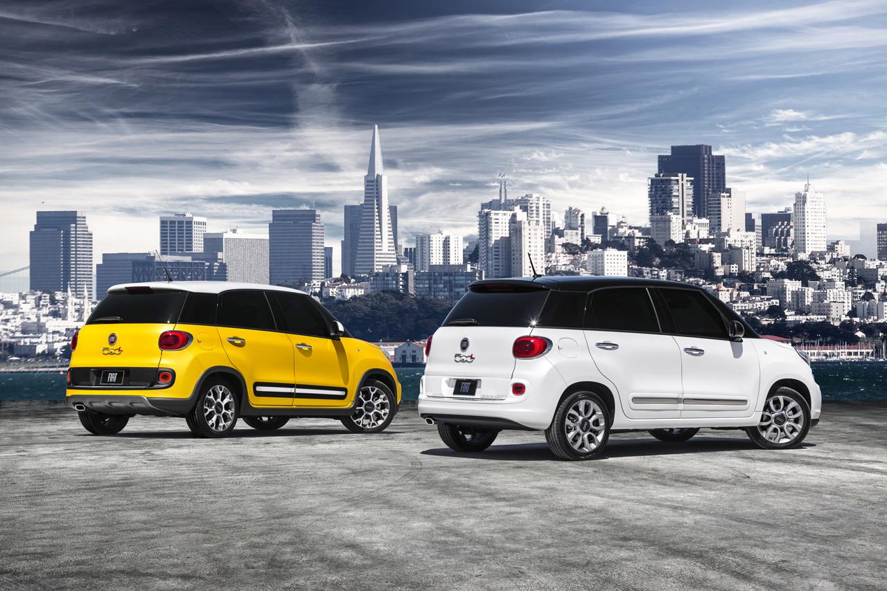 2014 Fiat 500L Trekking and 2014 Fiat 500L Lounge