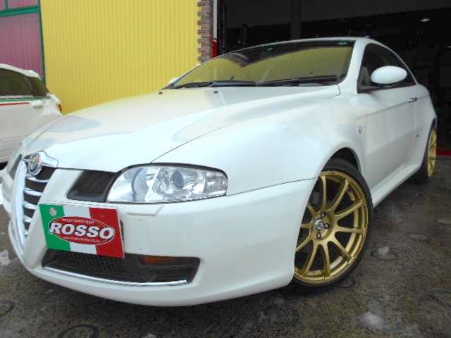アルファロメオ GT 2.0JTS セレスピードホワイトエディション 30台限定車