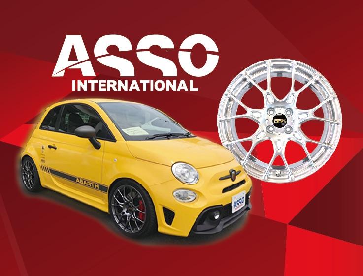 ASSO INTERNATIONAL展示即売!