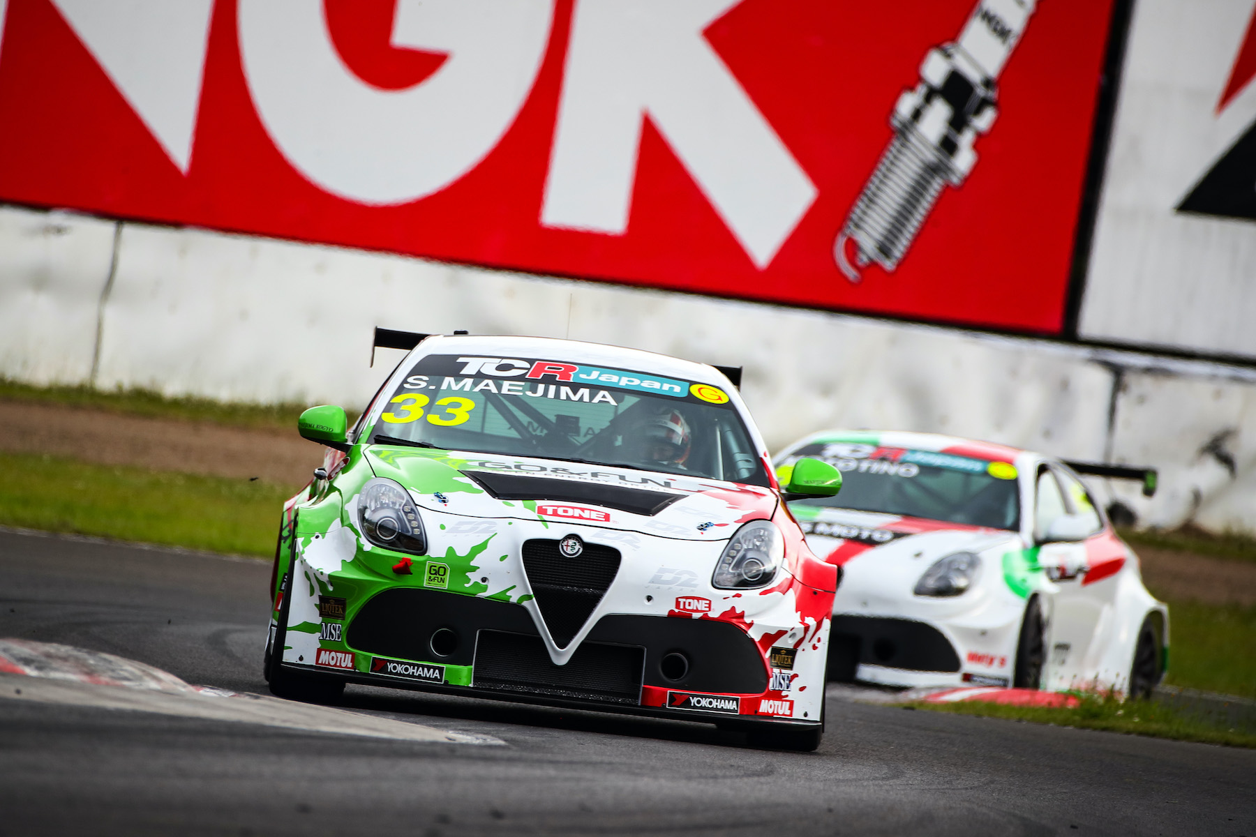 TCR Japan 鈴鹿サーキット🔥